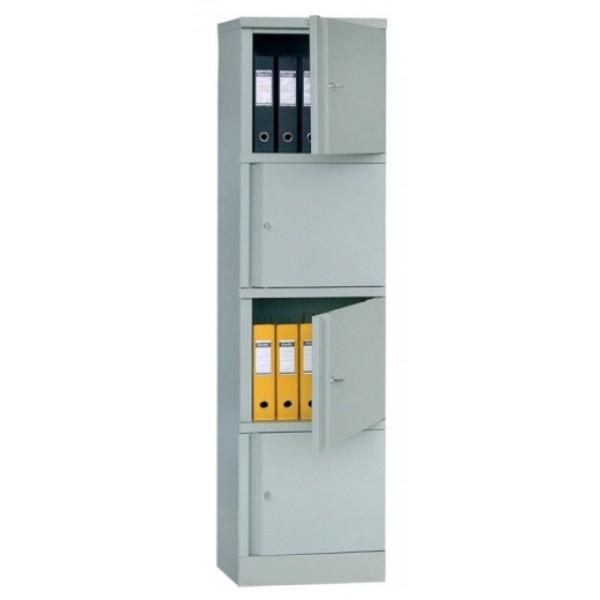 Шкаф для офиса Практик AM-1845/4