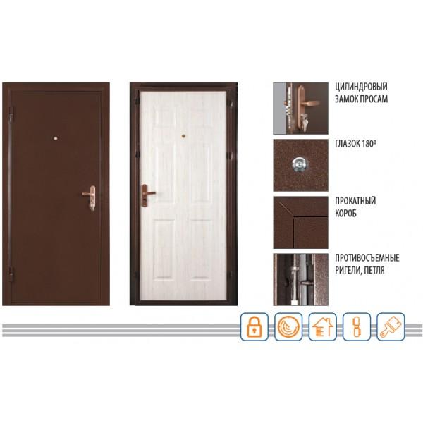 Дверь МАСТЕР 2050/850/70 R/L Valberg