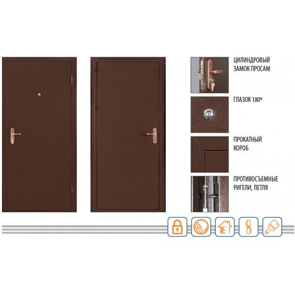 Дверь ПРОФИ 2050/950/70 R/L Valberg