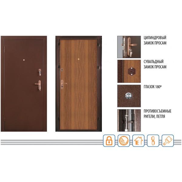Дверь МАСТЕР 2 2050/850/70 R/L Valberg