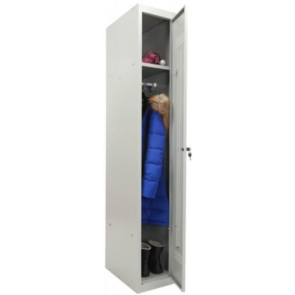 Шкаф для одежды ПРАКТИК усиленный ML 11-30 (базовый модуль)