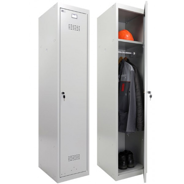 Шкаф для одежды ПРАКТИК усиленный ML 11-40 (базовый модуль)