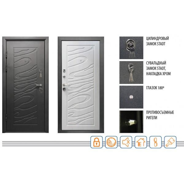 Дверь ДЖАЗ 2066/980/104 R/L Valberg
